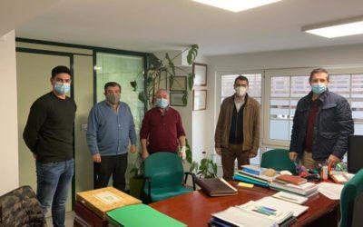 AGASEDE y AVIFOGAL se reúnen para analizar la situación del sector de la dependencia en Galicia