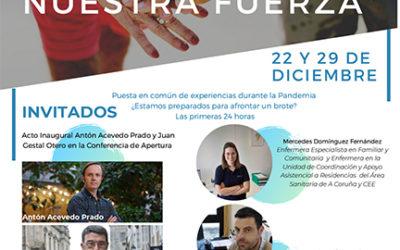 Inicio de las I Jornadas online AGASEDE: El sector frente al cornavirus
