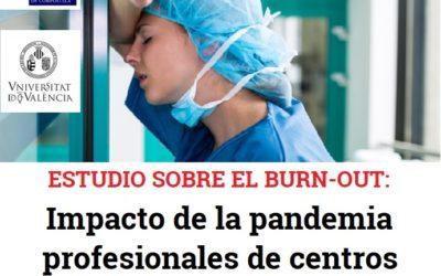 BURN-OUT:Impacto de la pandemia en los profesionales de centros residenciales